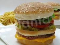 Pan Hamburguesa sésamo Doble