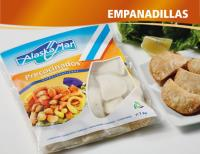 Empanadillas precocinadas ultracongeladas